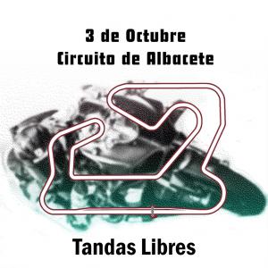 3 octubre Tandas libres Albacete
